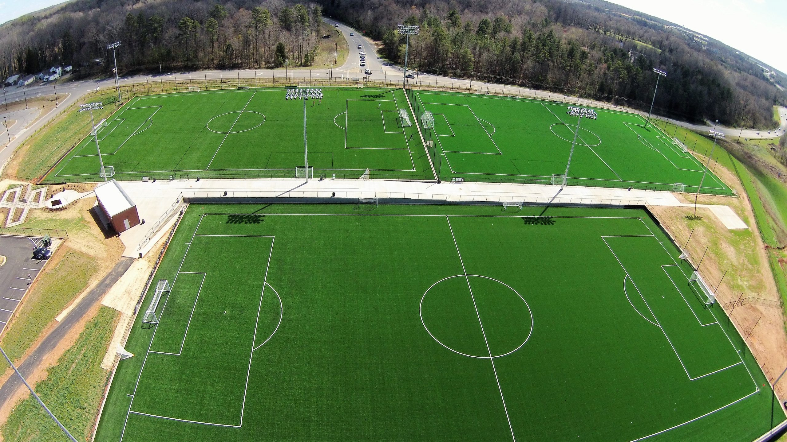 """Featured image for """"Riverview Athletic Fields completed earlier this Year!  Thanks to Fort Mill School District, Cummings and Campco Engineering for a great project!"""""""