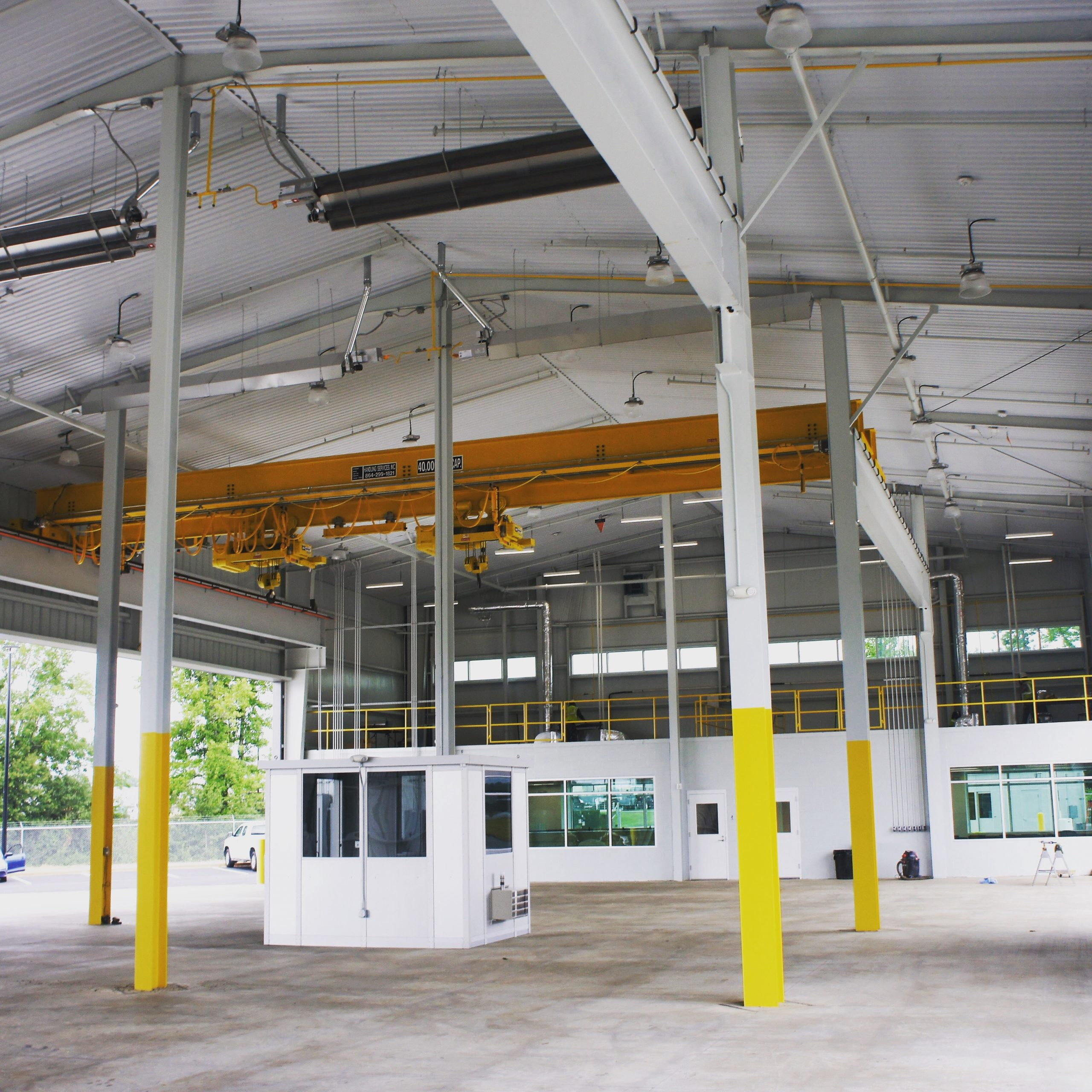 "Featured image for ""Freightliner Chassis Shipping facility nearing completion"""