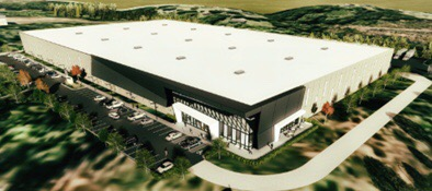 Daimler Logistics Center well under way!