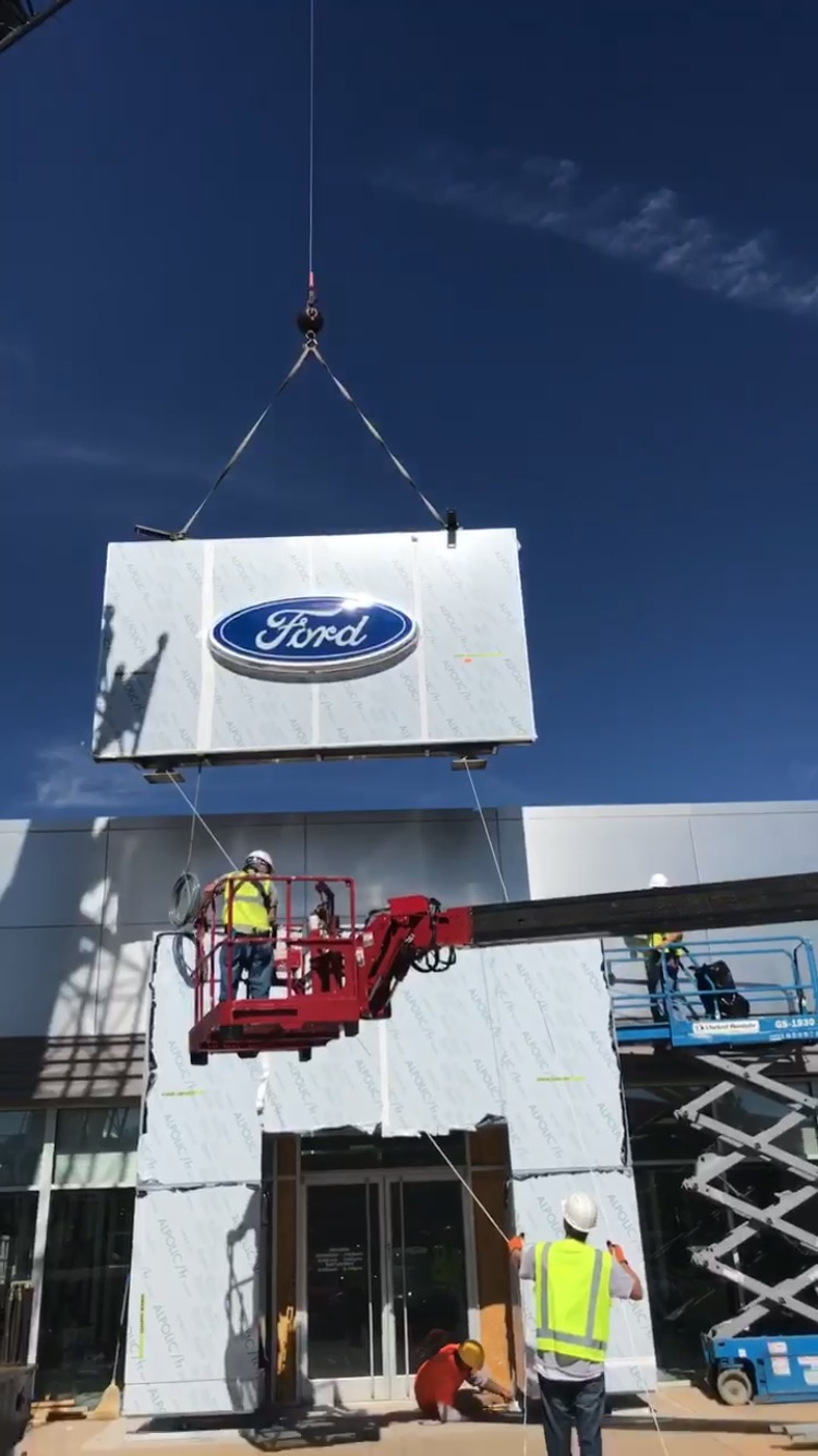 "Featured image for ""Ford tower in place"""