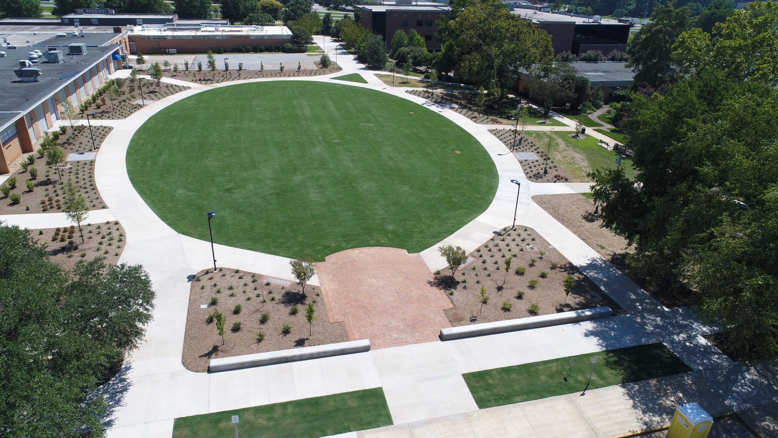 "Featured image for ""Spartanburg Community College new campus green space"""