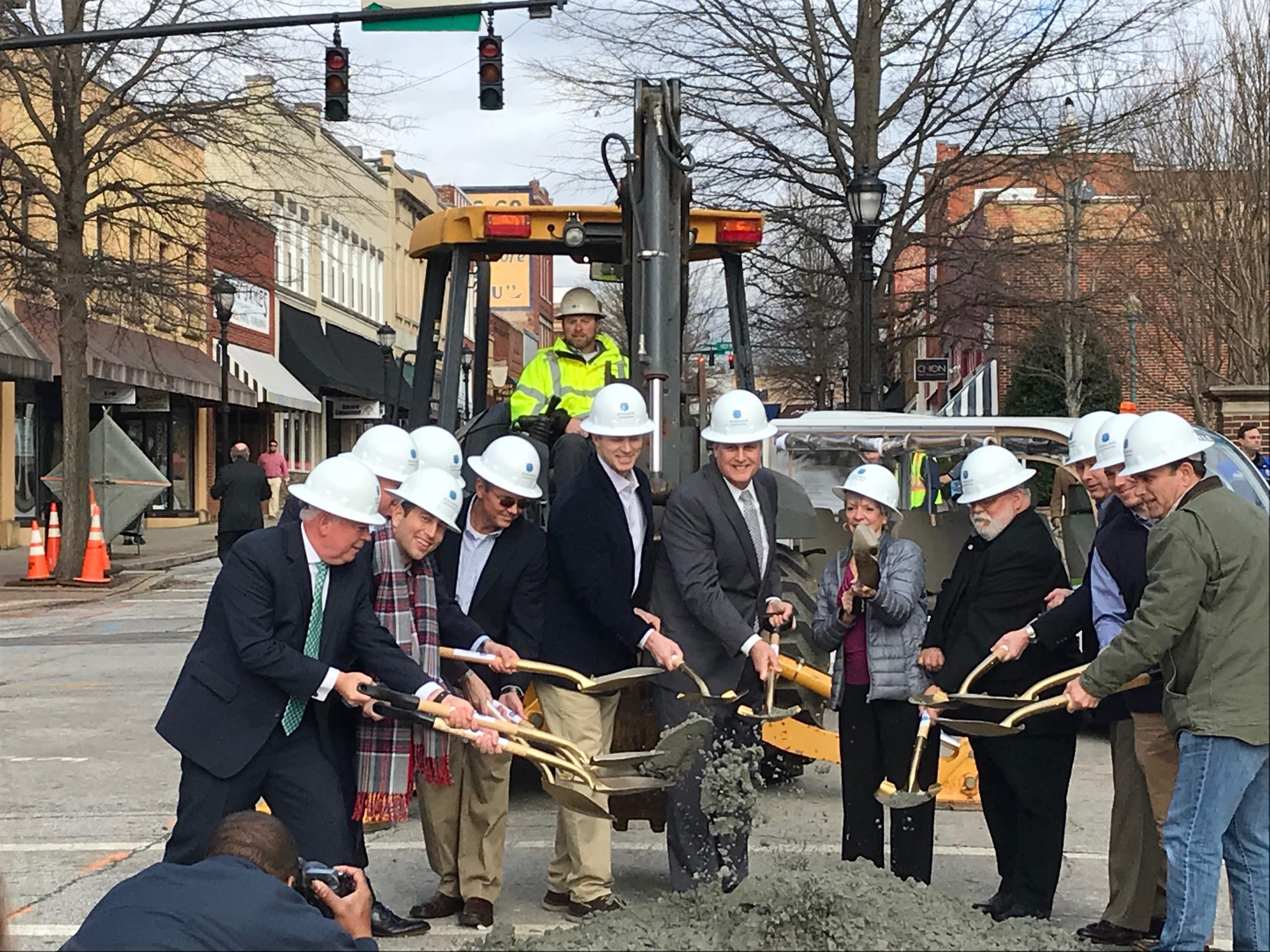 "Featured image for ""Greer Streetscape Groundbreaking"""