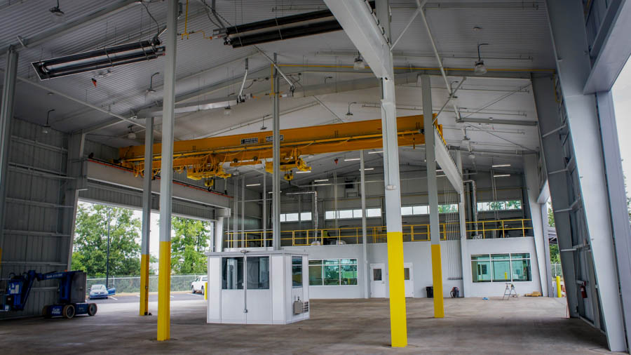 Freightliner Chassis Loading Facility