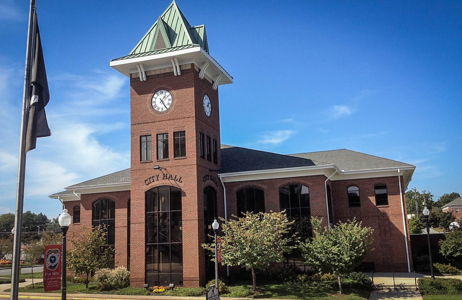 21,000 SF City Hall project in Gaffney, SC