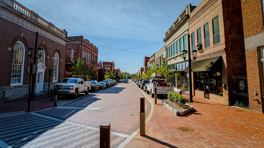 Greer Streetscape